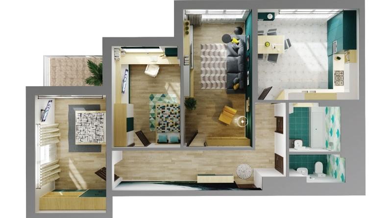 Двокмнатні квартири в Івано-Франківську